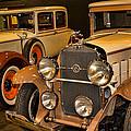 1931 La Salle Series 345r And 1929 Packard Roadster by Douglas Barnard
