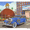 1931 Lincoln K Dietrich Phaeton by Jack Pumphrey