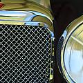 1932 Alvis-6 Speed 20 Sa Grille Emblem by Jill Reger