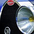 1932 Bugatti Type 55 Cabriolet Grille Emblem by Jill Reger