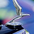 1933 Chevrolet Master Six Eagle Sedan Hood Ornament by Jill Reger