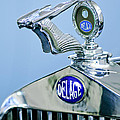 1933 Delage D8s Coupe Hood Ornament by Jill Reger