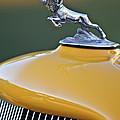 1933 Dodge Ram Hood Ornament by Jill Reger