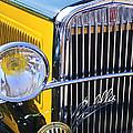 1933 Fiat Balilla Grille by Jill Reger
