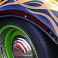1933 Ford Wheel by Jill Reger