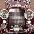 1934 Bentley 3.5-litre Drophead Coupe Grille by Jill Reger