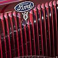 1934 Ford V8 Emblem 2 by Jill Reger