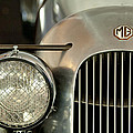 1934 Mg Pa Midget Supercharged Special Speedster Grille by Jill Reger