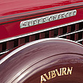 1935 Auburn Emblem by Jill Reger