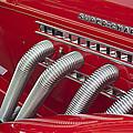 1935 Auburn Side Pipes by Jill Reger