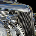 1936 Ford - Stainless Steel Body by Jill Reger