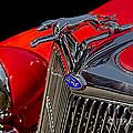 1936 Ford Model 48 Emblem by Susan Candelario