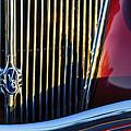 1936 Ford Phaeton V8 Grille Emblem by Jill Reger
