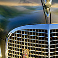 1937 Cadillac Hood Ornament And Grille by Jill Reger