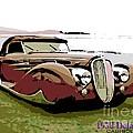 1938 Delahaye Cabriolet by George Pedro