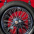 1938 Mg Ta Spare Tire by Jill Reger