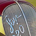 1938 Steyr 220 Glaser Roadster Grille Emblem by Jill Reger