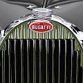 1939 Bugatti Type 57 Galibier Sports Saloon Hood Emblem by Jill Reger