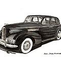 1939 Lasalle Sedan Classic by Jack Pumphrey