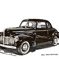 Studebaker Business Coupe by Jack Pumphrey