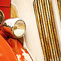 1940's Seagrave Fire Engine by Donna Greene