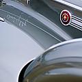 1941 Packard 1907 Custom Eight One-eighty Lebaron Sport Brougham Side Emblems by Jill Reger