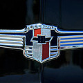 1942 Chevrolet Emblem by Jill Reger