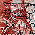 1944 Netherlands De Ruyter Stamp - Rotterdam Cancelled by Bill Owen