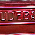 1947 Studebaker Tail Gate Cherry Red by Paul Ward
