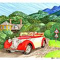 1948 Alvis English Countryside by Jack Pumphrey