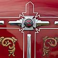 1948 American Lefrance Fire Truck Emblem by Jill Reger