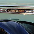 1948 Diamond T Truck Emblem 2 by Jill Reger