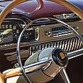 1949 Cadillac Sedanette Steering Wheel by Jill Reger