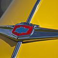 1949 Chevrolet Sedan Hood Emblem by Jill Reger