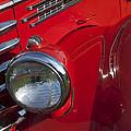 1949 Diamond T Truck Emblem by Jill Reger