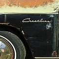 1950 Ford Crestliner Wheel Emblem by Jill Reger