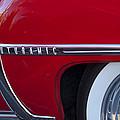 1950 Oldsmobile Rocket 88 Wheel by Jill Reger