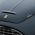 1951 Ferrari 212 Export Touring Berlinetta Hood Emblems by Jill Reger