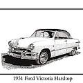 1951 Ford Victoria Hardtop by Jack Pumphrey