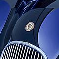 1951 Jaguar Proteus C-type Grille Emblem 4 by Jill Reger