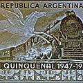 1951 Republica Argentina Stamp by Bill Owen