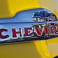 1952 Chevrolet Hood Emblem by Jill Reger