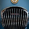 1952 Jaguar Hood Ornament And Grille by Sebastian Musial