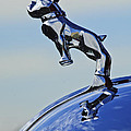 1952 L Model Mack Pumper Fire Engine Hood Ornament by Jill Reger