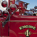 1952 L Model Mack Pumper Fire Truck 2 by Jill Reger