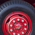 1952 L Model Mack Pumper Fire Truck Wheel 2 by Jill Reger
