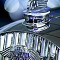 1952 Morgan Plus 4 Hood Ornament And Emblem by Jill Reger