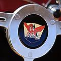 1953 Arnolt Mg Steering Wheel Emblem by Jill Reger