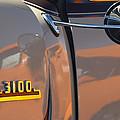1953 Chevrolet 3100 Pickup Emblem by Jill Reger