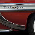 1953 Chevrolet Belair Emblem by Jill Reger